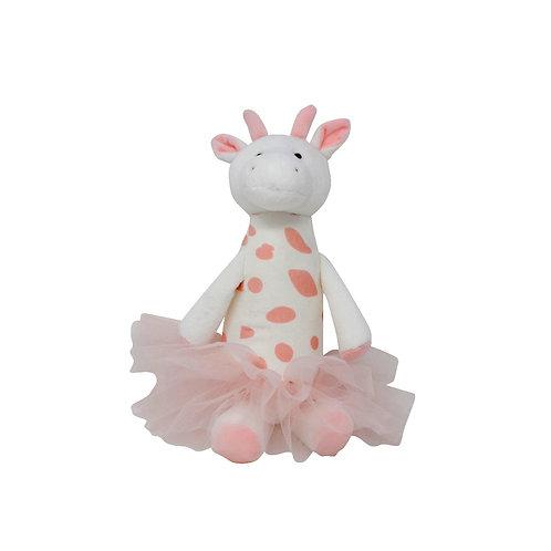Peluche girafe ballerine 25 cm