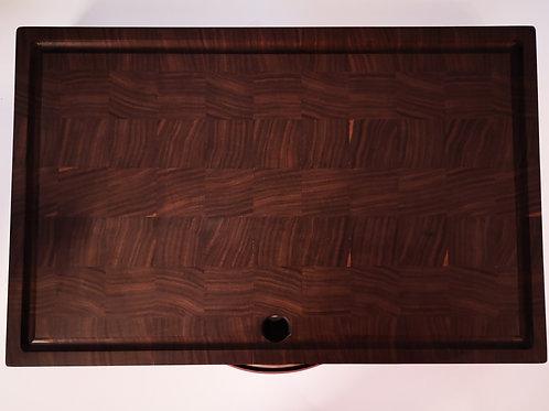 Bloc de boucher en bois de noyer de 18'' x 12''