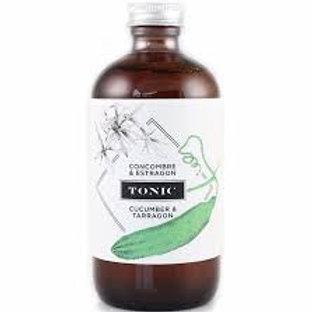 Sirop tonic concombre et estragon