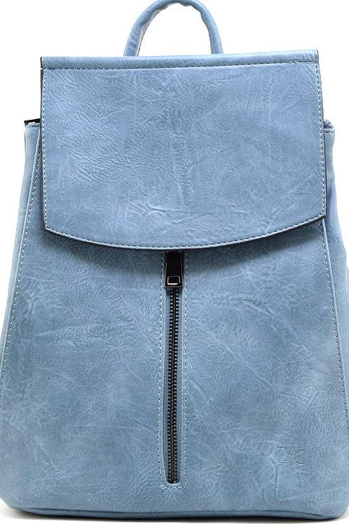 Sac à dos convertible bleu-gris