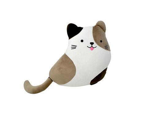 Peluche chat 3 couleurs 35 cm
