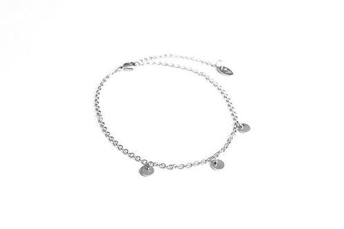 Bracelet de cheville Lanai argent