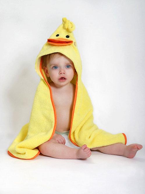 Serviette pour bébé ''Canard''