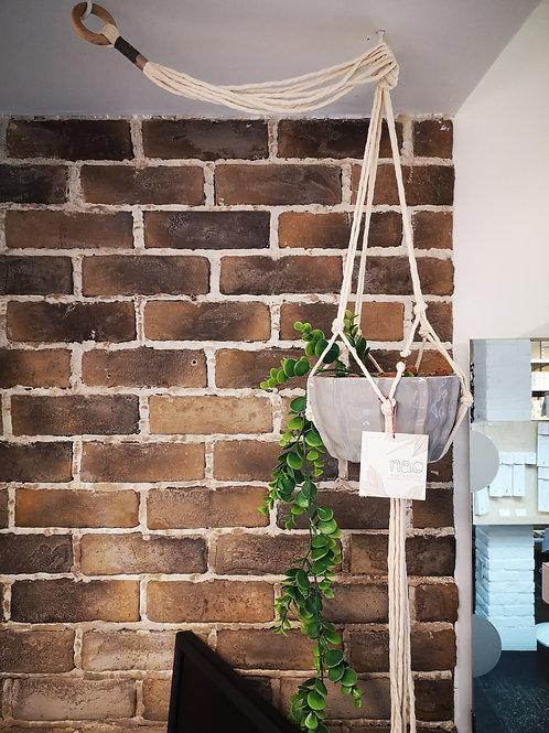 Support pour plante en cordage