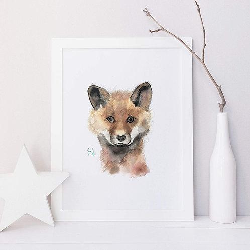 Affiche renard