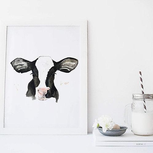 Affiche vache