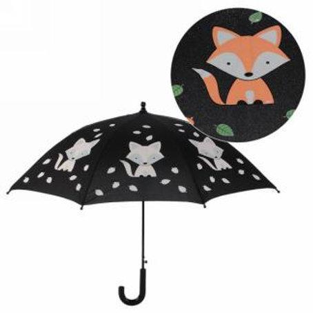 Parapluie couleur changeante - Renard