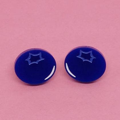 Boucles d'oreilles Bleuet