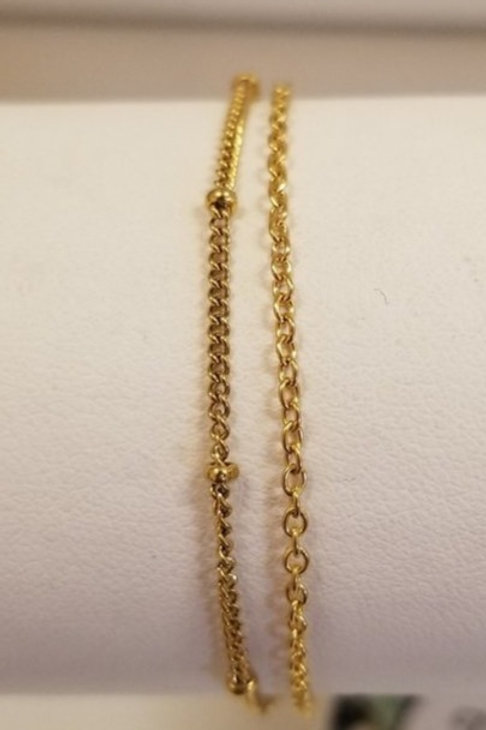 Bracelet de cheville Bondi or