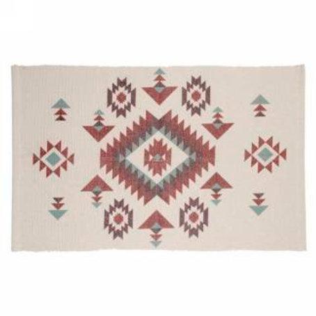 Tapis aztèque 3,5' x 2'