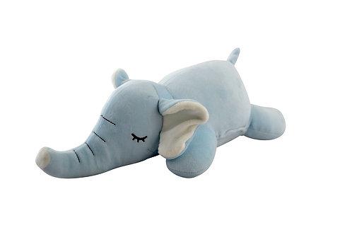 Peluche éléphant bleu