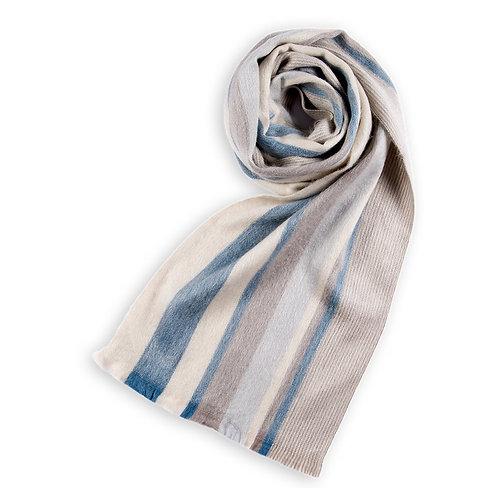 Foulard de laine d'alpaga Desert Sky