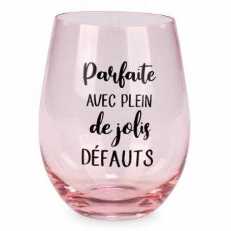Verre à vin ''Jolis défauts''