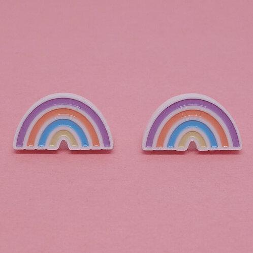 Boucles d'oreilles Arc-en-ciel