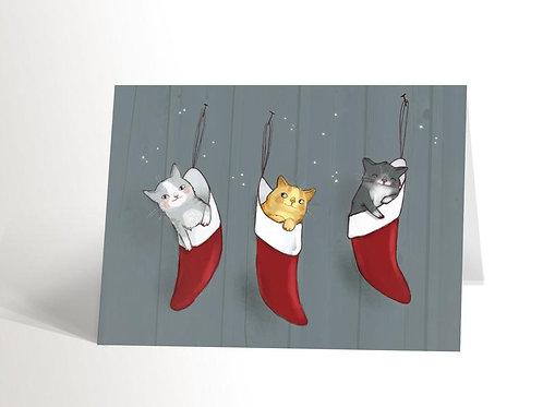 Carte 3 chatons