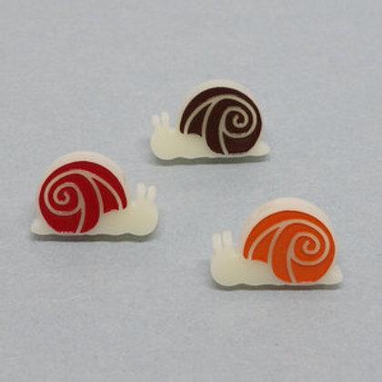 Boucles d'oreilles Escargot