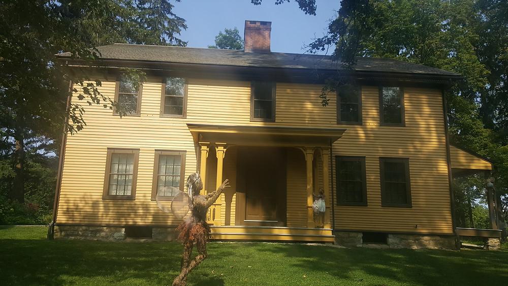 Arrowhead, Herman Melville's Home in Pittsfield, Massachusetts