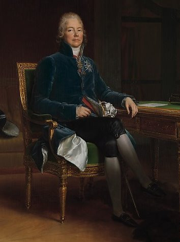 Charles Maurice de Talleyrand Périgord, by François Gérard (1808)