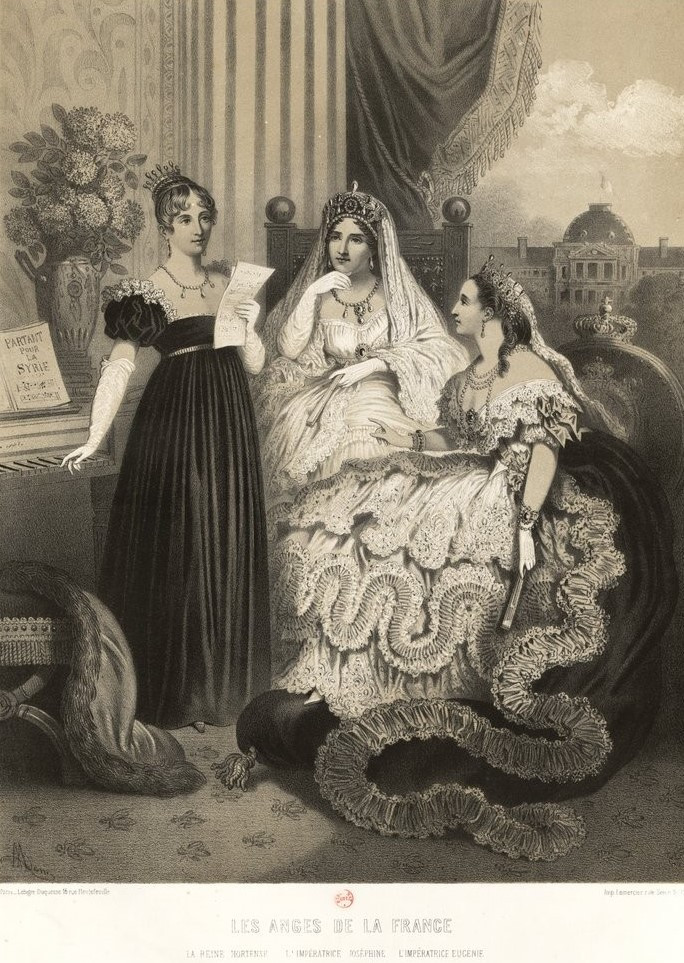The Angels of France: The Queen Hortense, The Empress Josephine, and The Empress Eugenie