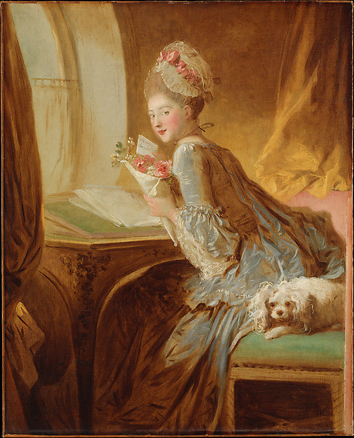 The Love Letter, Jean Honoré Fragonard
