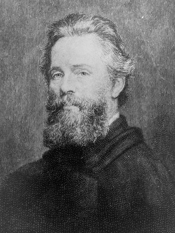 Herman Melville, via Library of Congress