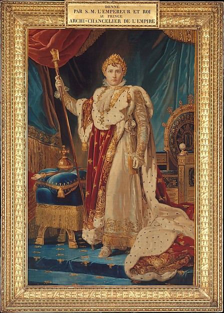 Napoleon I, After a painting by François Gérard (c. 1805-1811)