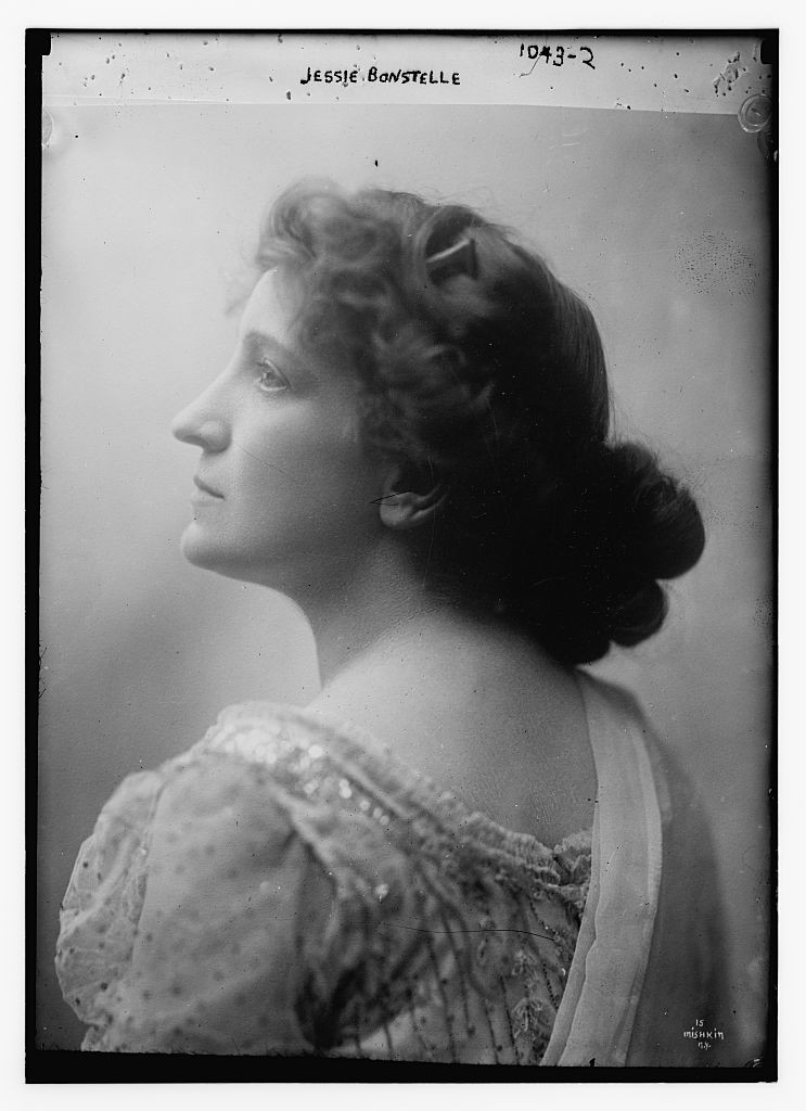 Photograph of Jessie Bonstelle, actress and founder of the Detroit Civic Theatre