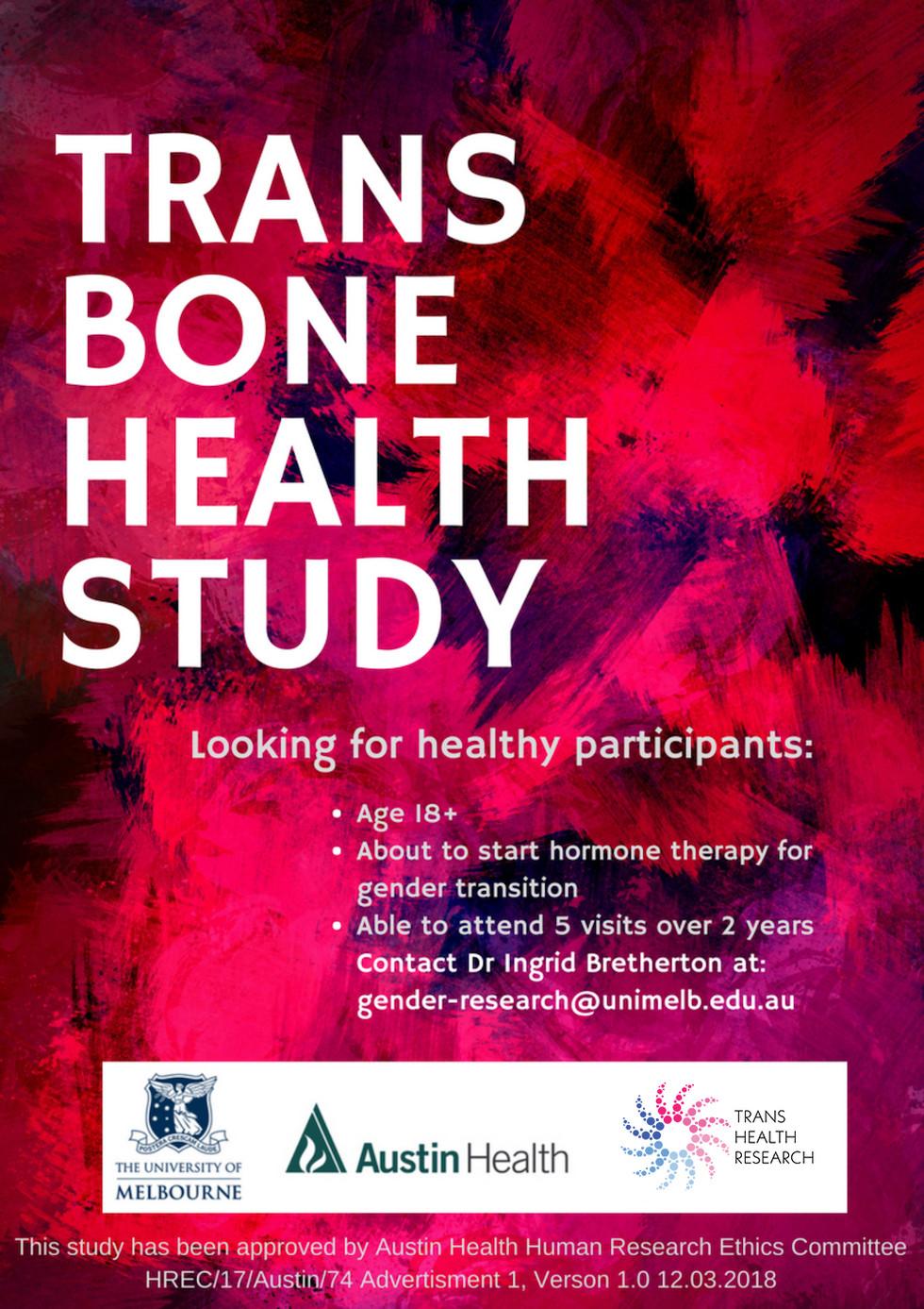 Trans Bone Health Study