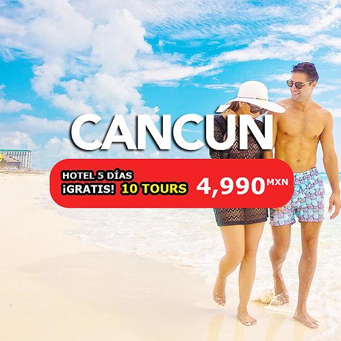 🌴 Cancún 5 días + 10 Experiencias