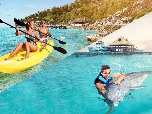 Cancún 4 días + Nado con delfines + Barco Pirata
