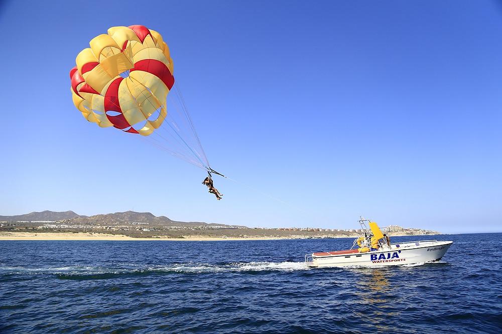mexico viajes | paracaidas los cabos