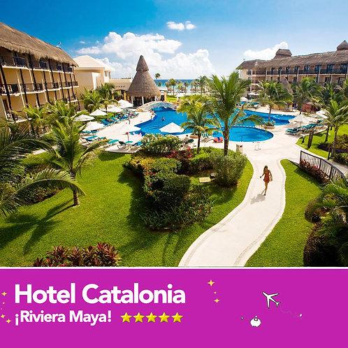 Hotel Catalonia Riviera Maya 4 días al 2x1