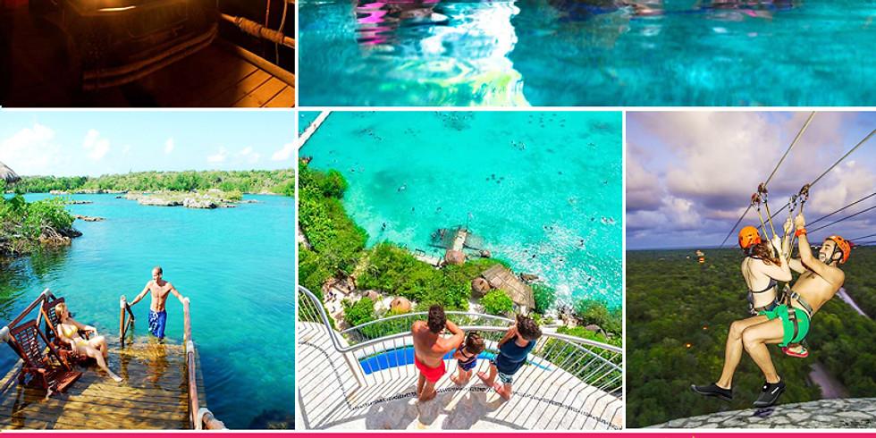 🌴Paquete Cancún + 3 EXPERIENCIAS