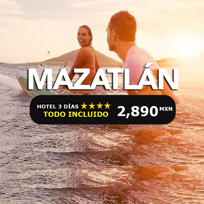 🔥 Oferta en Mazatlán 3 días