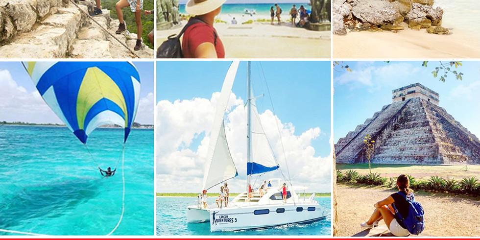 🌴 5 días en Cancun 10 tours gratis
