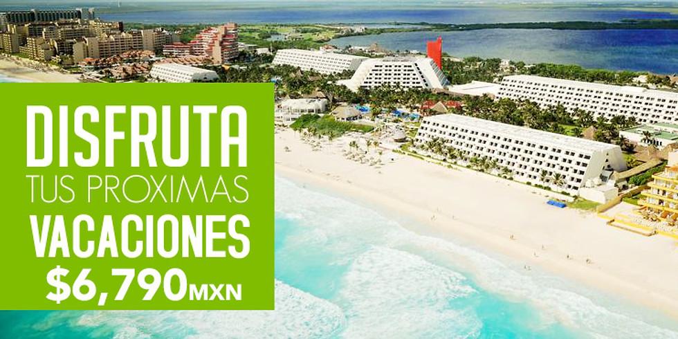 Paquete GRADUADOS 4 días Oasis Cancún