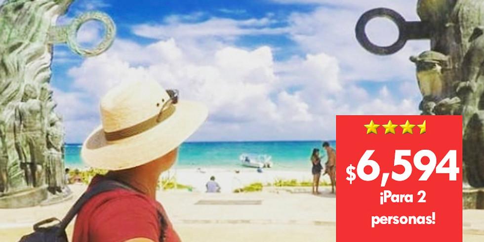 🏨 4 días en Playa del Carmen + 6 tours  ¡GRATIS!