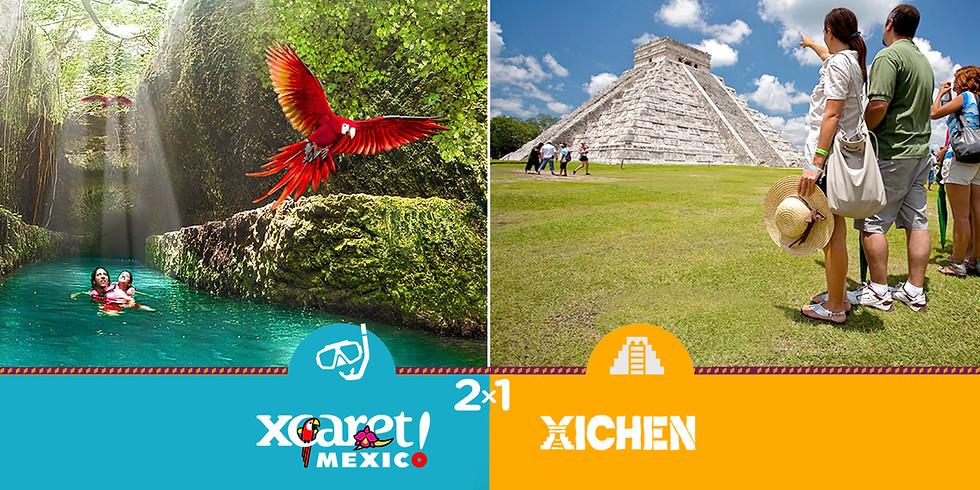 🔥 2x1 Xcaret Plus + Segundo tour ¡GRATIS!