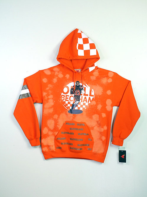 Cleveland Browns Odell Beckham Jr. Orange Hoodie