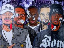 Bone Thugs -N- Harmony x iAmLilMike ArtW