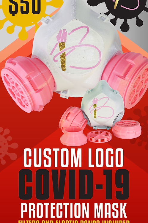 Customizable COVID-19 Protection Mask