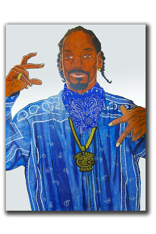 Snoop Dogg Canvas Print