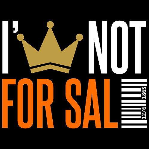 I'm Not For Sale Hat