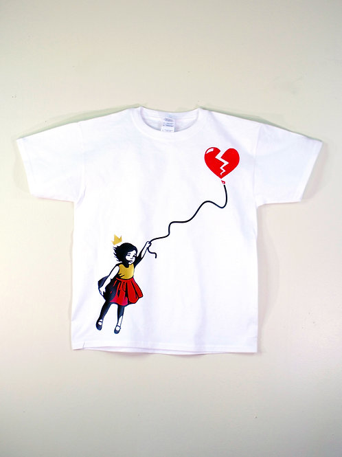 Dreams, Hope and Love T-Shirt(White)