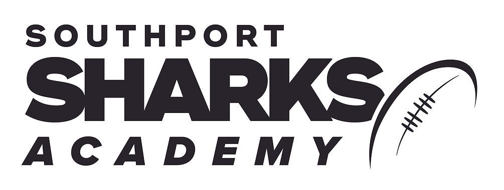 Southport Sharks Academy Logo - final co