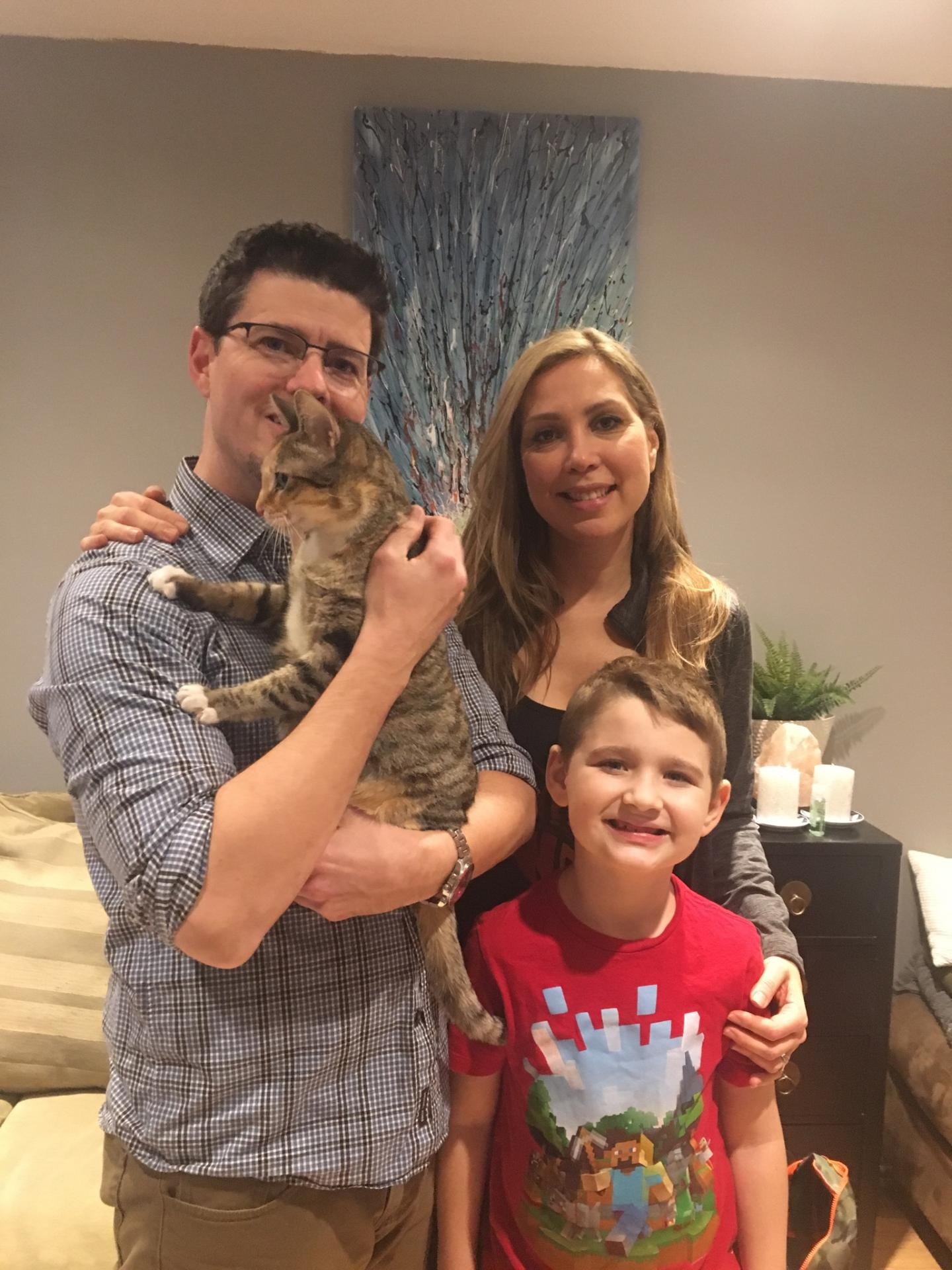 Socks has a new family!