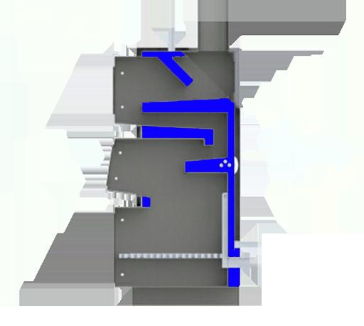 Конструкция котла Вулкан Альфа