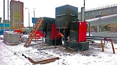 Автоматический твердотопливный котел Vulkan 100 кВт