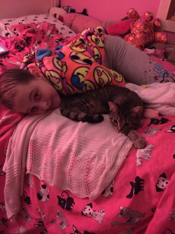 Beth Wittson adopted Minnie