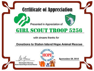 TROOP 5256 DONATIONS